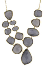 Grey Marcia Moran Jewelry Steller Style Necklace