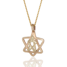 Haari Kabbalah Jewelry Star Of David Pendant and Seal of Solomon