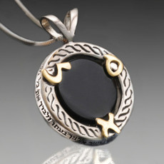 Haari Pendant For Prosperity with Onyx