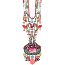 Ayala Bar Polyanthus Long and Layered Necklace - One Left
