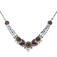 Ayala Bar Jewellery Hawthorn Purple Necklace