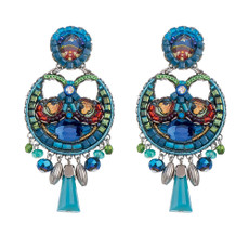 Blue Juniper earrings by Ayala Bar Jewelry