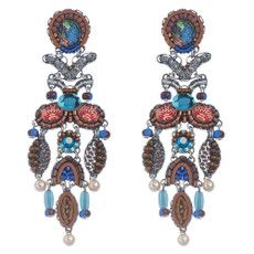 Ayala Bar Jewelry Pine Gold Earrings