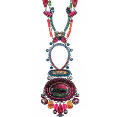 Pink Ayala Bar Jewelry Rowan Style Necklace