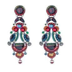 Pink Rowan earrings from Ayala Bar Jewelry