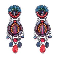 Pink Rowan style earrings by Ayala Bar Jewelry