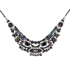 Black Ayala Bar Jewelry Blacktree Style Necklace