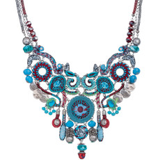 Blue Ayala Bar Jewelry Coral Cave Necklace