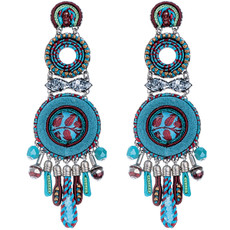 Blue Coral Cave earrings from Ayala Bar Jewelry