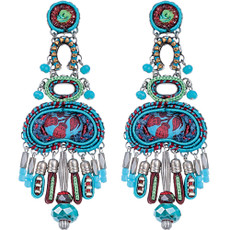 Blue Coral Cave earrings by Ayala Bar Jewelry