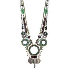 Ayala Bar Ocean Drift Necklace Green