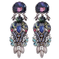 Ayala Bar Fall 2017 Purple Earrings West Wind
