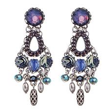 Ayala Bar Jewelry West Wind Purple Earrings