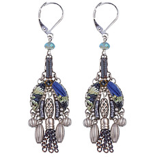 Ayala Bar Jewellery West Wind Purple Earrings