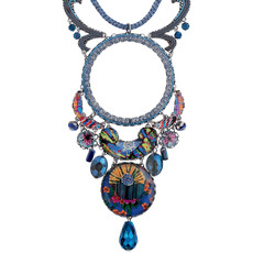 Ayala Bar Fall 2017 Blue Necklace Insight
