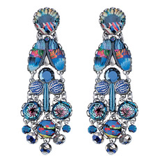 Ayala Bar Jewelry Insight Blue Earrings