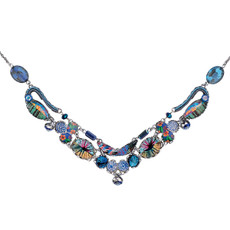 Blue Insight style necklace by Ayala Bar Jewelry