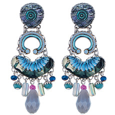 Ayala Bar Jewelry Illumination Blue Earrings