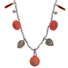 Ayala Bar Orange  Necklace