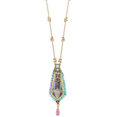 Michal Negrin Riveting Necklace - Multi Color