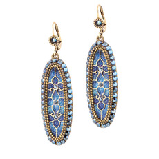 Michal Negrin Stone Earrings - Multi Color