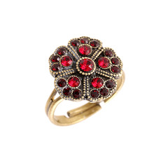 Michal Negrin Round Flower Ring - Multi Color