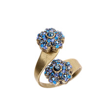 Michal Negrin Double Headed Ring - Multi Color