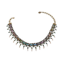 Michal Negrin Happy Day Necklace - Multi Color