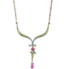 Michal Negrin Petals Necklace - Multi Color