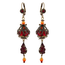 Michal Negrin Shining Cage Earrings - Multi Color