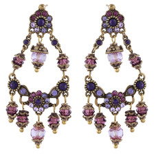 Michal Negrin Small Palace Earrings - Multi Color