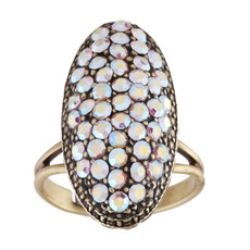 Michal Negrin Moon Ring - Multi Color
