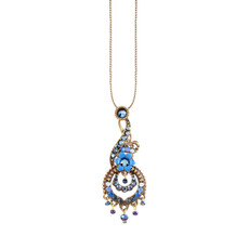 Michal Negrin Blue Nola Necklace - Multi Color
