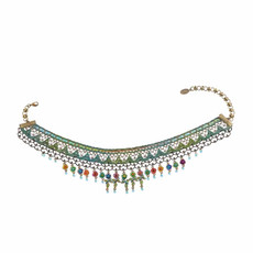 Michal Negrin Delicate Necklace - Multi Color