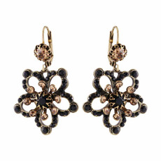 Michal Negrin Extended Petal Earrings - Multi Color