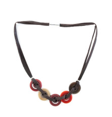 Encanto Jewellery Ekho Green Necklace - Multi Color