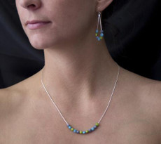 Encanto Jewelry Dulcet Blue Necklace - Multi Color