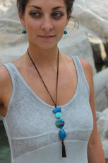 Sonatina necklace by Encanto Jewelry - Multi Color