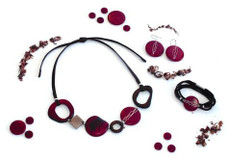 Bohem necklace from Encanto Jewelry - Multi Color
