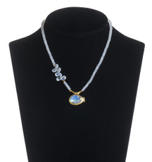 Nava Zahavi Moonstone Delight Necklace - New Arrival