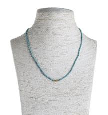Nava Zahavi Delicate Turquoise Necklace - New Arrival