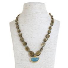 Seventh Sea Necklace by Nava Zahavi - New Arrival
