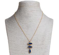 Opal Pyramid Necklace by Nava Zahavi - New Arrival