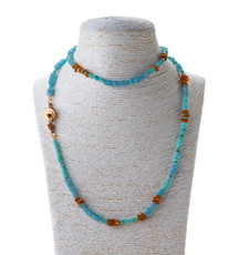 Amber Love Necklace by Nava Zahavi - New Arrival