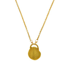 Golden Lock Necklace by Nava Zahavi - New Arrival