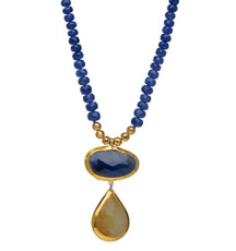 Royalty Sapphire Necklace by Nava Zahavi - New Arrival