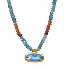 Ocean Aquamarine Necklace