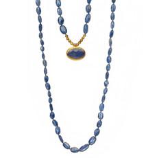 Ocean Blue Long Necklace - New Arrival