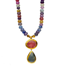 Joyful Sapphire Necklace by Nava Zahavi - New Arrival