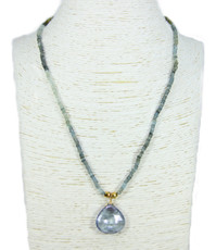 Shadows of Blue Necklace by Nava Zahavi - New Arrival